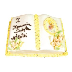 Tort na komunię 04 Cukiernia Tadek