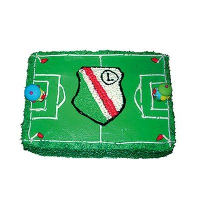 Tort na urodziny Legia Warszawa 07 Cukiernia Tadek