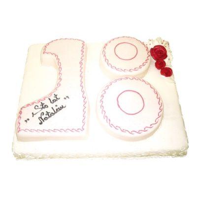 Tort na urodziny 15 Cukiernia Tadek