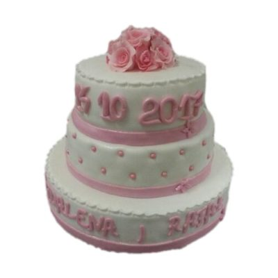 Tort na wesele 01 Cukiernia Tadek
