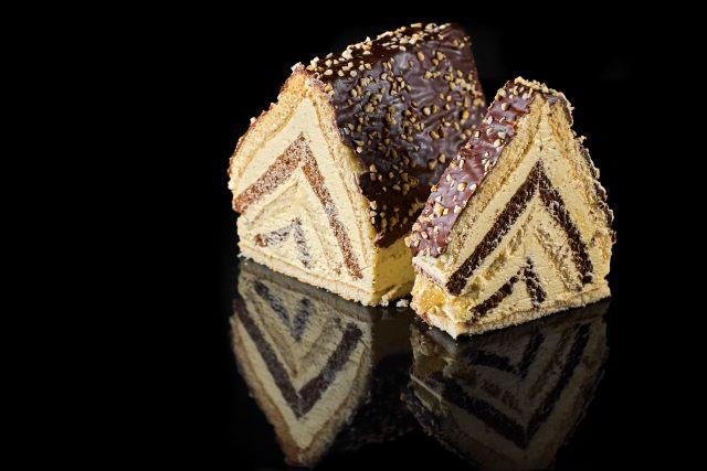Chatka Tadka - piramidka biszkoptowa z kremem i alkoholem