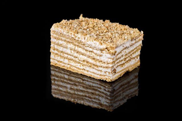 Ciasto Litewskie - przekładaniec z ciasta półkruchego