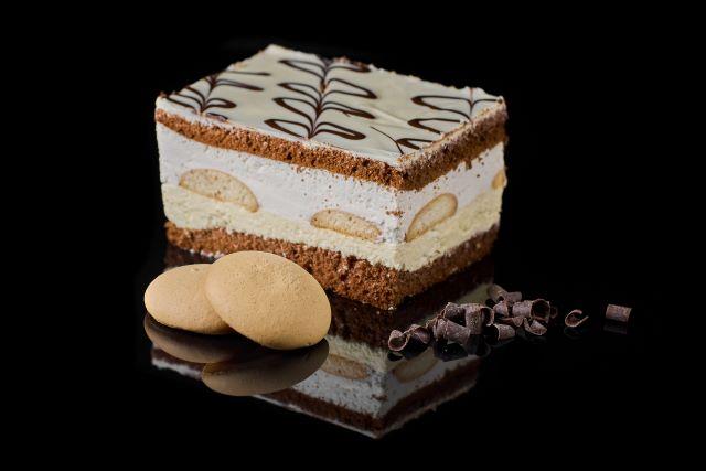 Biszkoptowe ciasto z kremem Milki Wej
