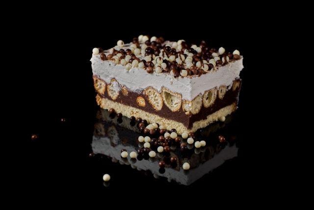 Ciasto Pijak - biszkopt z musem czekoladowym
