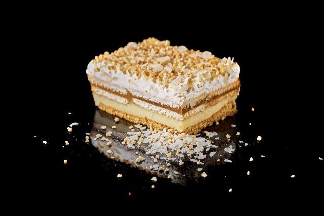 Ciasto szefowej - kruche ciasto z budyniem