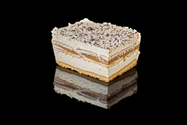 Toffi - kremowe ciasto biszkoptowe