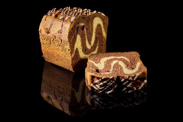 Zebra - ciasto ucierane z kakao