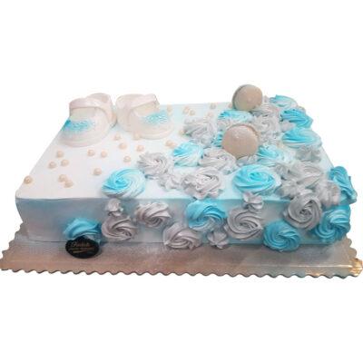 Tort na chrzest tort10