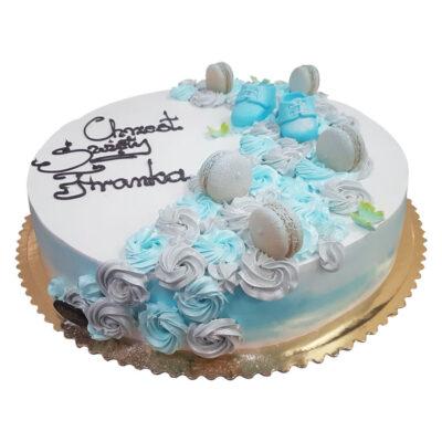 Tort na chrzest tort4