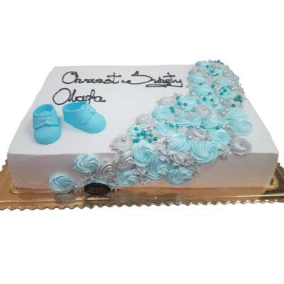 Tort na chrzest tort5